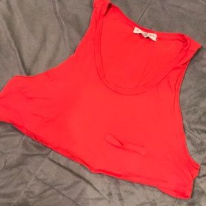 UO Cropped Muscle Tank Size L